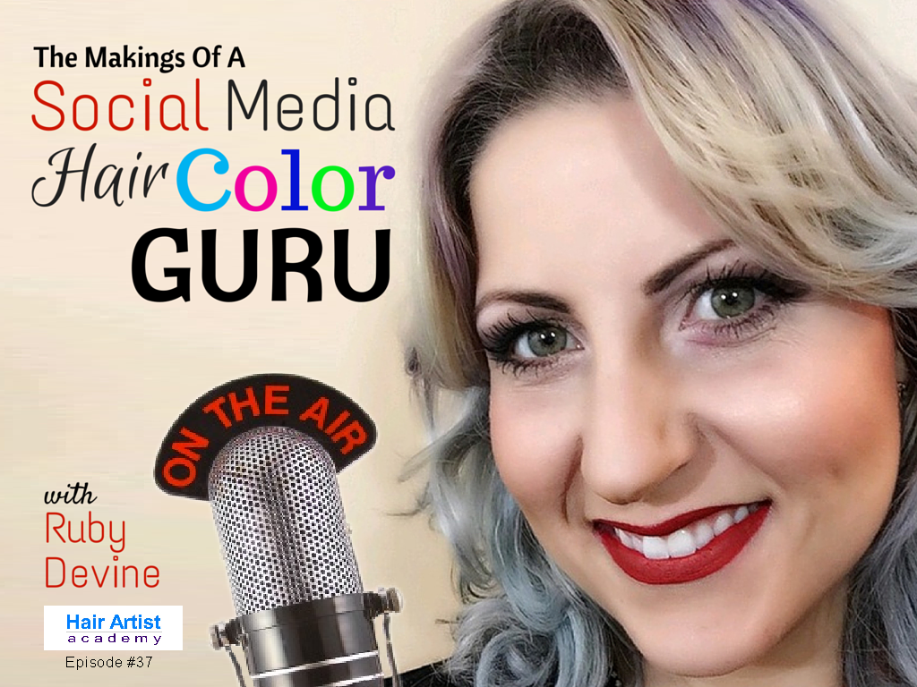 The Makings of A Social Media Hair Color Guru