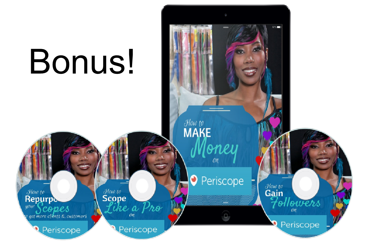 Periscope money bundle Bonuses