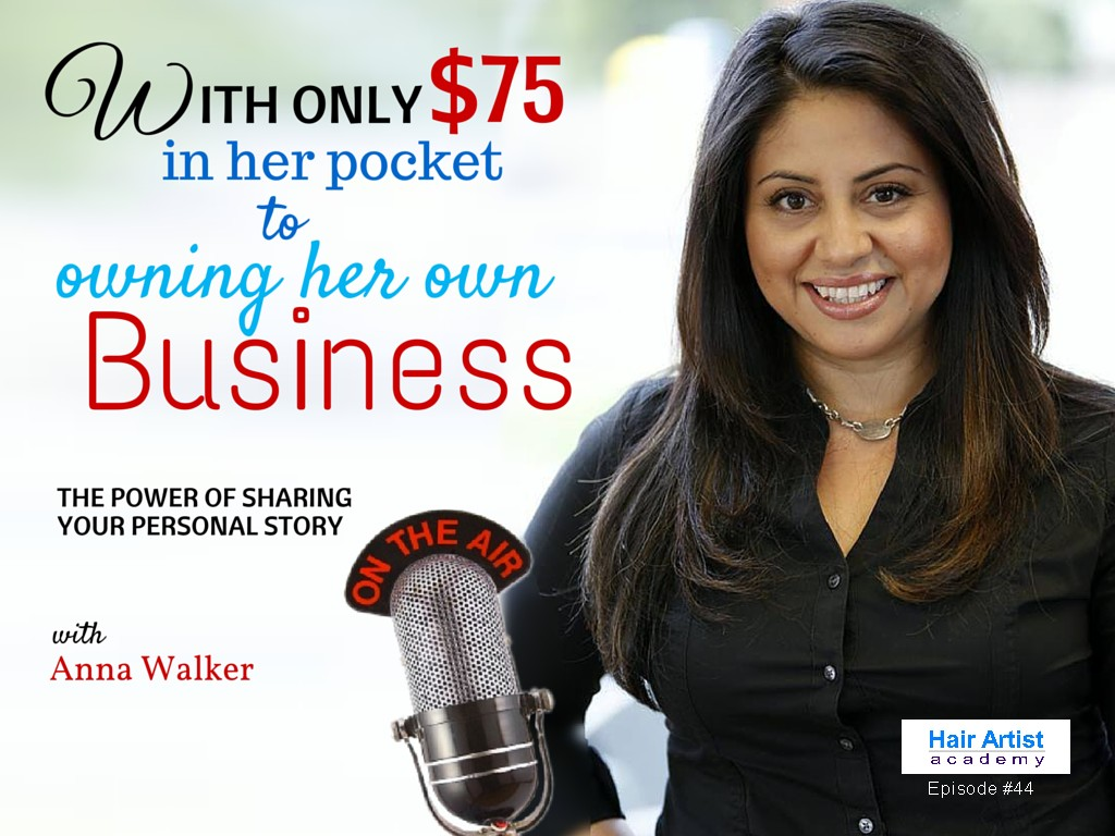 With only $75 in her pocket to starting her own business